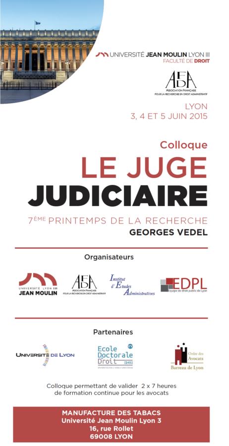 le juge judiciaire afda