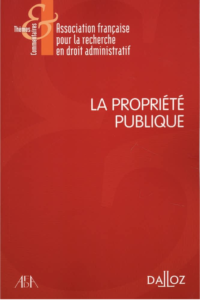 Afda La propriété publique